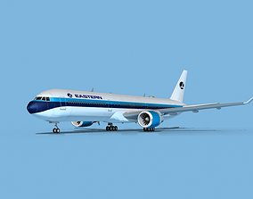 3D model Boeing 767-400 Eastern Airlines 1