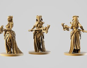 Wood driad 3D print model
