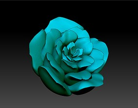 3D print model 3d Rose Motiff