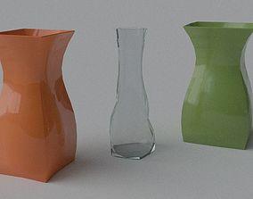 3D model Decorative Vase - Set 4