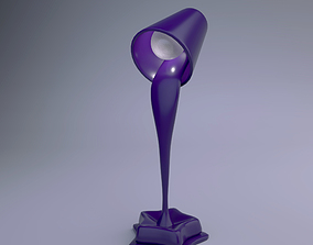Stylized Table Lamp 3D model