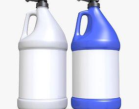 3D Gallon Plastic Bottle
