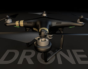 drone 3D DJI Phantom 3 Professional