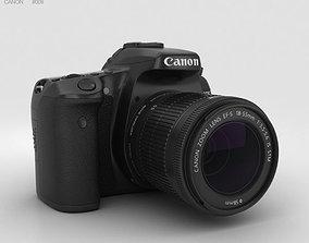 Canon EOS 70D 3D model