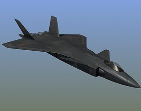 3D model J20 Mighty Dragon Stealth Fighter