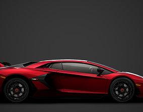 3D Lamborghini Aventador SVJ 2020