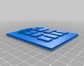 rebel pilot commpad 3D print model