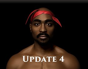 3D 2pac character