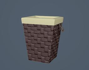 3D asset Laundry Hamper
