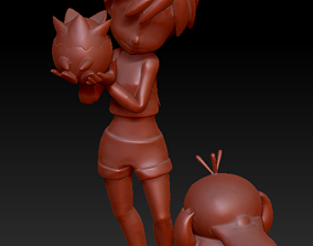 3D printable model misty Pokemon - Misty