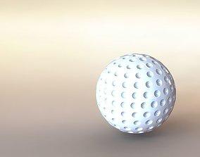 3D printable model toys Golf Ball