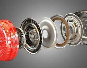 3D model Transmission Torque Converter