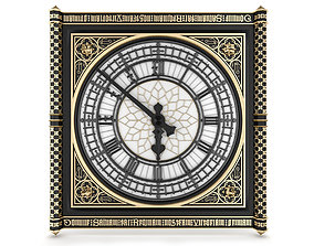 3D Big Classical Clock Luxury
