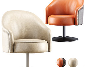 3D Amanda leather armchair