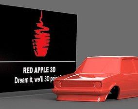 3D printable model vw golf mk 1 shell