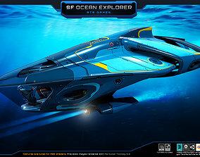 SciFi - Ocean Explorer 3D asset
