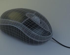 Simple mouse 3D model