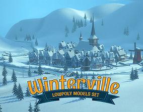 3D asset Winterville
