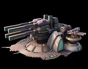 Machinery - Turret 03 3D model