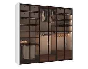 Wardrobe cabinet 3D