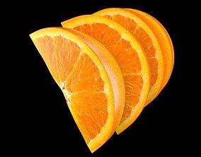3D model Orange Slice
