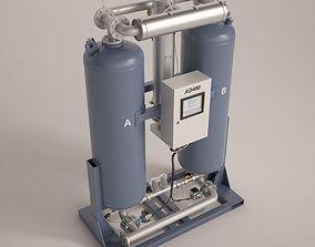 compressors 3D AD 480 Heated purge desiccant air dryer