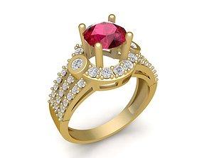 1727 Diamond ring 3D printable model