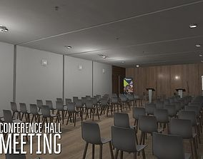 Conference hall - meeting 3D model