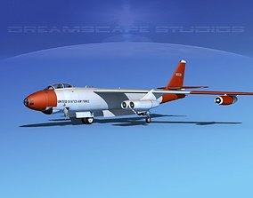 3D Boeing B-47A Stratojet V02