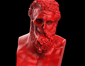 3D print model Hercules Ripped Face