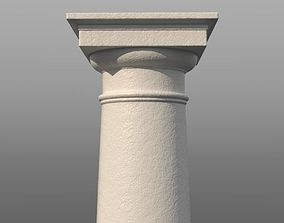 3D asset Tuscan Column
