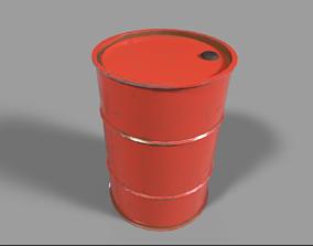 realtime Barrel PBR Model
