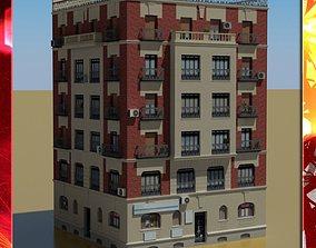 Building 3D model exterior