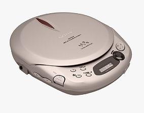 3D model Sony Walkman CD Player