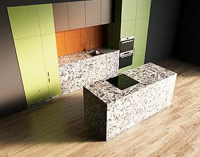 81-Kitchen9 matte 7 3D