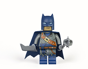 3D asset Batman Lego-Rigged