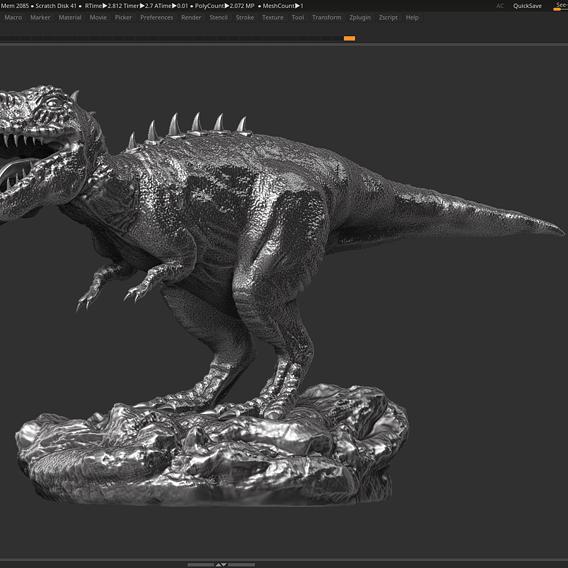 dinosaur trex