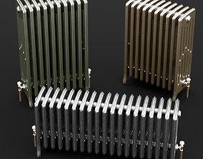Cast Iron radiator set 3D