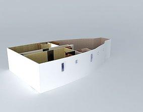 3D model milena gulet