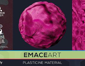 PBR Plasticine Material 1 Substance Unity 3D model