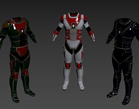 3D Military suit