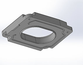 Yamaha MT-07 Air Filter cover STAGE 2 3D printable model