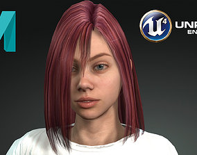 3D asset Game Ready Photo-Realistic Low-Poly Human 1