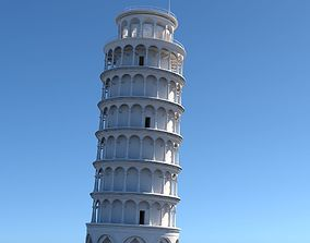 3D Leaning Tower Of Pisa