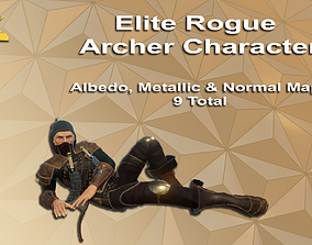 Elite Rogue Archer Character 3D asset