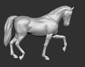 3D printable model Horse - Walk