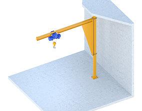 Industrial lift - Spacer crane 3D