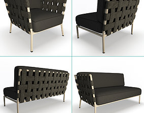 Conic Furniture Collection Cane-Line 3D
