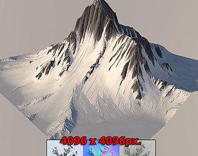 3D Mountain cliff