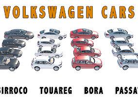 VOLKSWAGEN CARS 3D